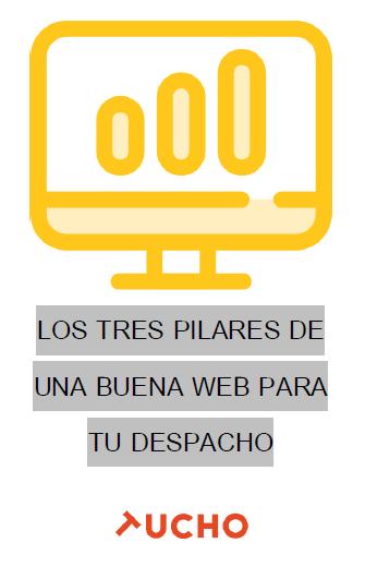 E-book gratuito: Los tres pilares de una buena web para tu despacho